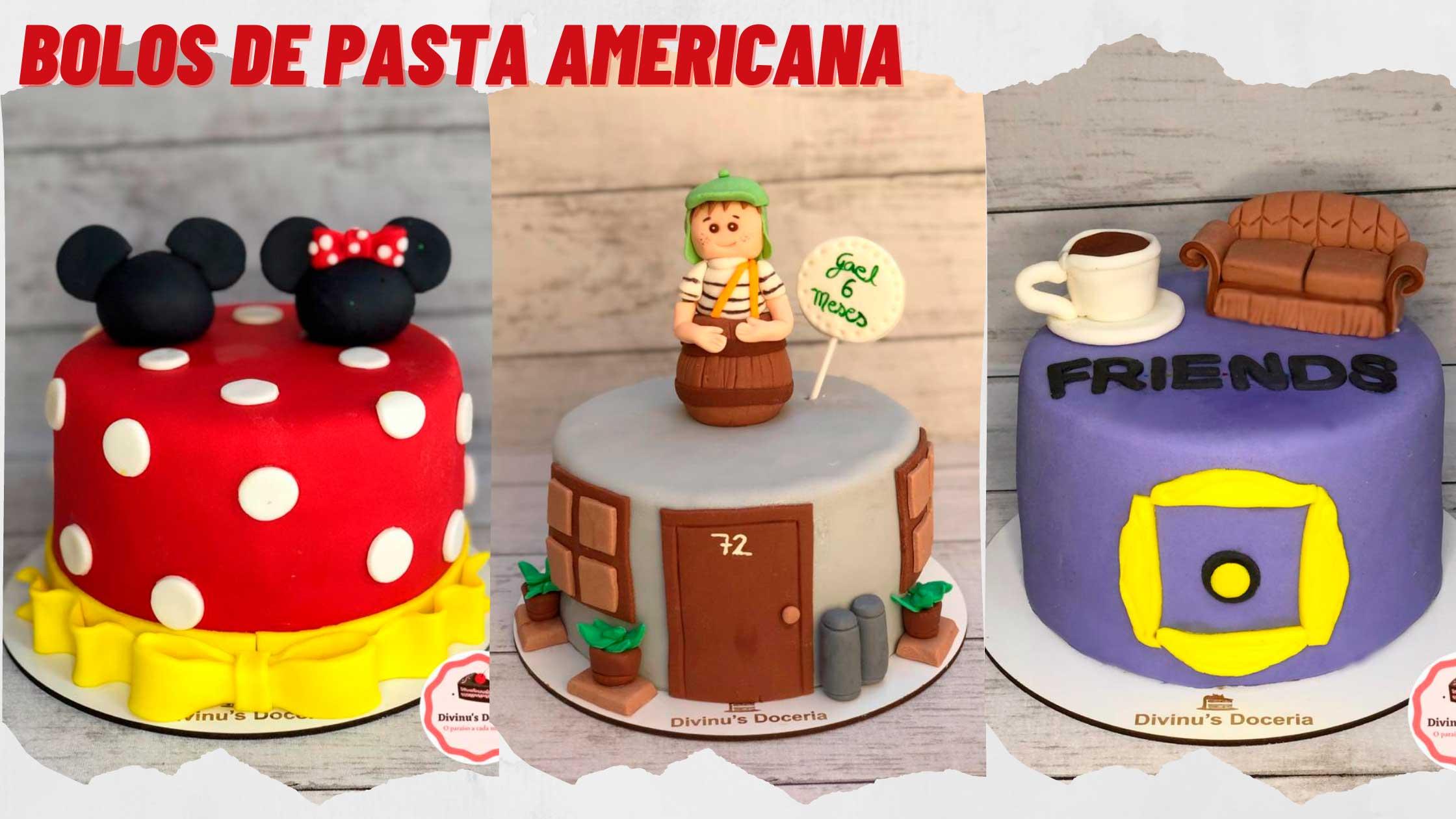 Bolo de Pasta Americana